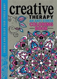 Creative Therapy An Anti Stress Coloring Book By Hannah