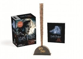 Harry Potter Hermione?s Wand With Sticker Kit: Lights Up!