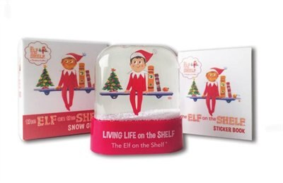 The Elf On The Shelf Snow Globe de Running Press