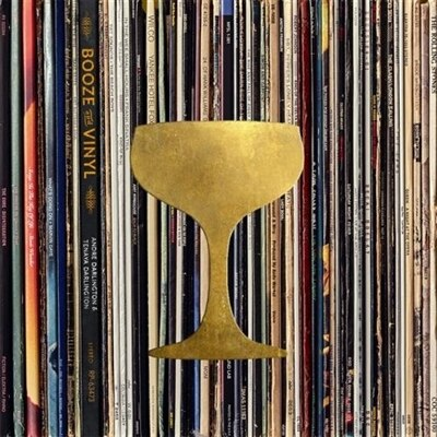 Booze & Vinyl: A Spirited Guide to Great Music and Mixed Drinks by André Darlington