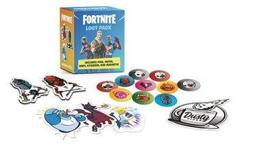 Fortnite (official) Loot Pack: Includes Pins, Patch, Vinyl Stickers, And Magnets! by Epic Games