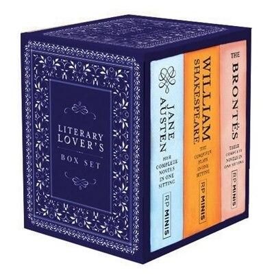 Literary Lover's Box Set de Running Press