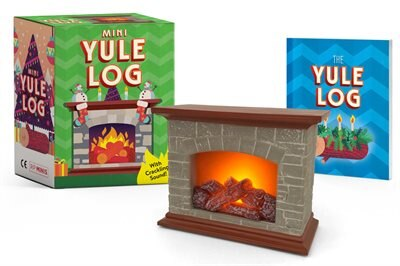 Mini Yule Log: With Crackling Sound! de Running Press
