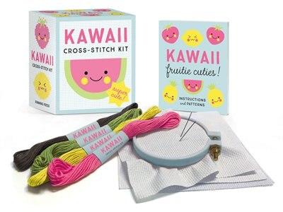 Kawaii Cross-stitch Kit: Super Cute! de Sosae Caetano