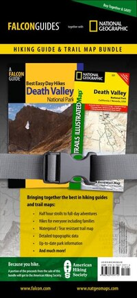 Best Easy Day Hiking Guide and Trail Map Bundle: Death Valley National Park