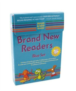 Book Brand New Readers Blue Set by Various