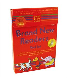 Book Brand New Readers Red Set by Various