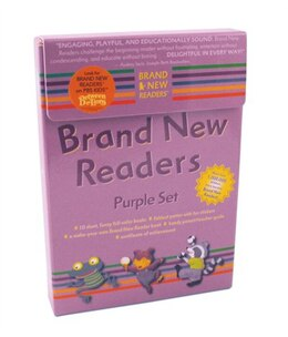Book Brand New Readers Purple Set by Various