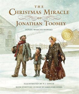 Book The Christmas Miracle Of Jonathan Toomey With Cd: Gift Edition by Susan Wojciechowski