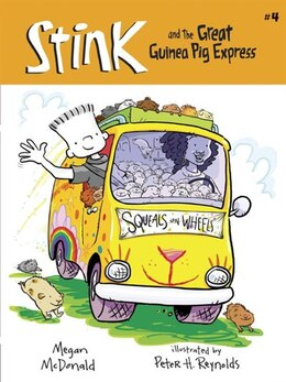 Book Stink And The Great Guinea Pig Express (book #4) by Megan Mcdonald