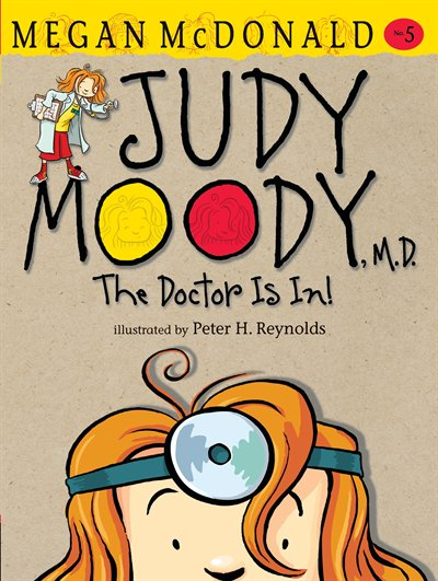 Book Judy Moody, M.d. by Megan Mcdonald