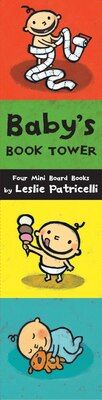 Book Baby's Book Tower by Leslie Patricelli