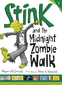 Book Stink And The Midnight Zombie Walk by Megan Mcdonald