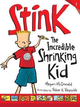 Book Stink: The Incredible Shrinking Kid by Megan Mcdonald