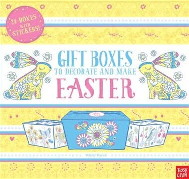Gift boxes to decorate and make easter book by nosy crow gift boxes to decorate and make easter by nosy crow negle Gallery