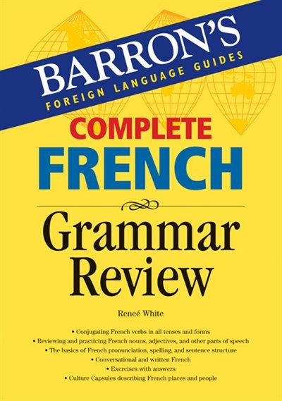 complete french grammar review book by renee white paperback. Black Bedroom Furniture Sets. Home Design Ideas