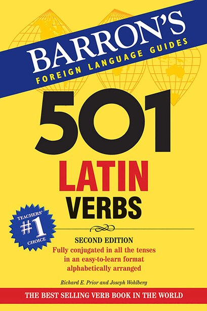 501 Latin Verbs by Richard E. Prior