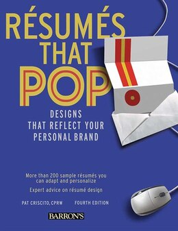 Book Resumes that Pop!: Designs that Reflect Your Personal Brand by Pat Criscito CPRW