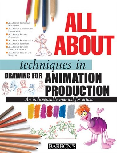 All About Techniques In Drawing For Animation Production