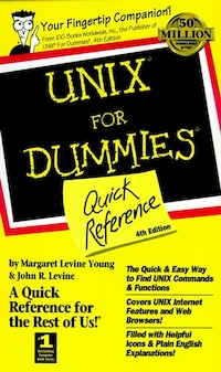 UNIX For Dummies Quick Reference: Quick Reference