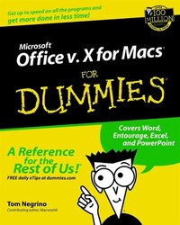 Microsoft Office v.X for Macs For Dummies
