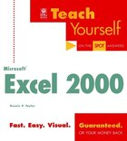 Teach Yourself Microsoft Excel 2000