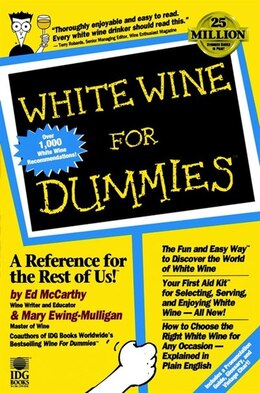 Book White Wine For Dummies by Ed McCarthy