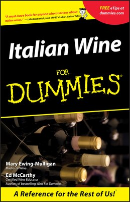 Book Italian Wine For Dummies by Mary Ewing-Mulligan