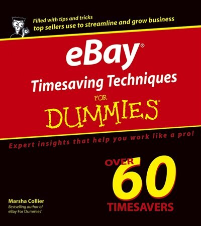 Ebay Timesaving Techniques For Dummies Book By Marsha Collier Paperback Www Chapters Indigo Ca