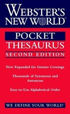 Webster's New World Pocket Thesaurus, Second Edition: Second Edition