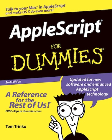 AppleScript For Dummies