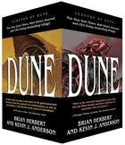 Dune Boxed Mass Market Paperback Set #1: Dune: The Butlerian Jihad, Dune: The Machine Crusade, Dune…