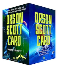 The Ender Quartet Boxed Set: Ender's Game, Speaker for the Dead, Xenocide, Children of the Mind