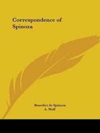 Correspondence of Spinoza