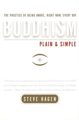 Book Buddhism Plain And Simple by Steve Hagen