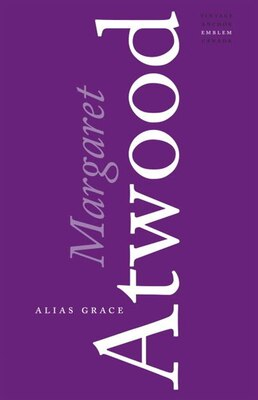 Book Alias Grace by Margaret Atwood
