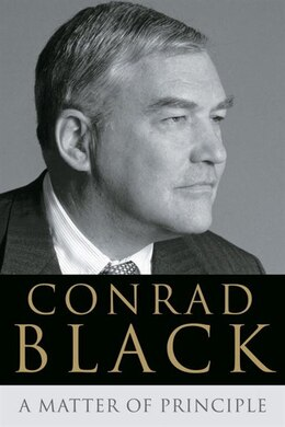 Book A Matter of Principle by Conrad Black