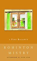 Book A Fine Balance by Rohinton Mistry