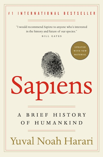 Sapiens: A Brief History Of Humankind, Book by Yuval Noah