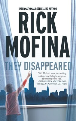 Book They Disappeared by Rick Mofina