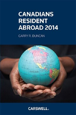 Book Canadians Resident Abroad 2014 by Garry Duncan