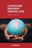 Canadians Resident Abroad 2016