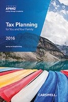 Tax Planning for You and Your Family 2016