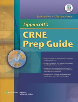 Book Lippincott's CRNE Prep Guide by Elaine Schow