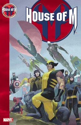 Book House Of M by Brian Michael Bendis