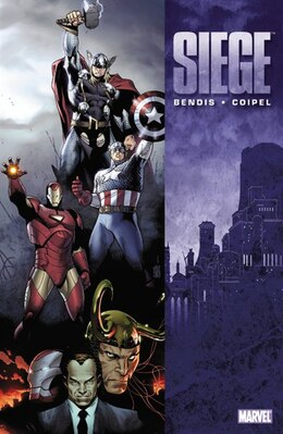 Book Siege by Brian Michael Bendis