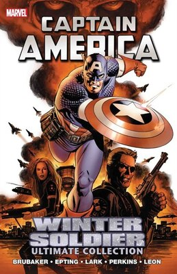 Book Captain America: Winter Soldier Ultimate Collection by Ed Brubaker
