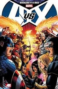 Book Avengers Vs. X-men by Brian Michael Bendis