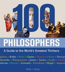 Book ONE HUNDRED PHILOSOPHERS by Peter J. King