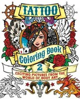 tattoo colouring book in all shops | chapters.indigo.ca